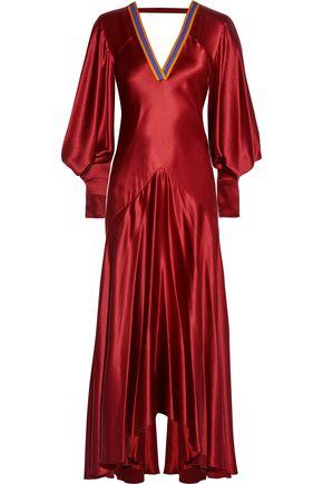 ROKSANDA Zenku open-back hammered silk-satin dress
