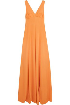 EMILIA WICKSTEAD Fanina embellished crepe gown