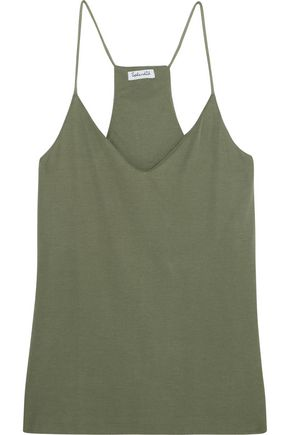 SPLENDID Sandwashed ribbed-knit camisole