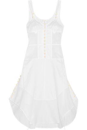CHLOÉ Button-detailed cotton-voile dress