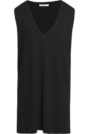 T by ALEXANDER WANG Half Milano stretch-knit top
