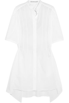 STELLA McCARTNEY Cotton-poplin mini dress