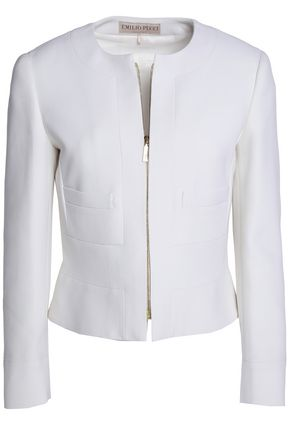 EMILIO PUCCI Cropped wool jacket