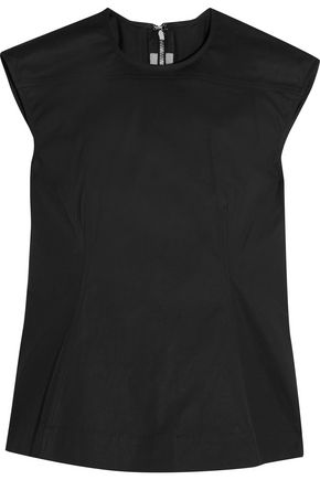 RICK OWENS Calpurnia cotton-blend canvas top