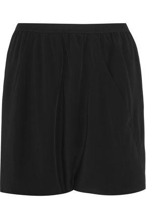 RICK OWENS Buds crepe shorts