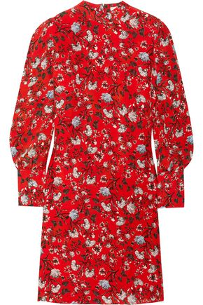 ERDEM Mirela floral-print silk dress