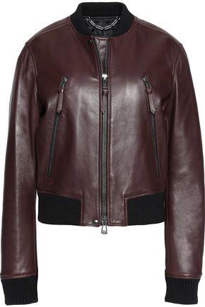 BELSTAFF Camila leather bomber jacket
