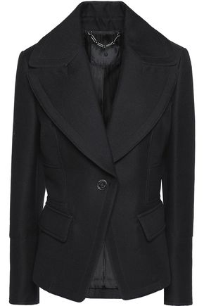 BELSTAFF Astley wool and cotton-blend twill blazer