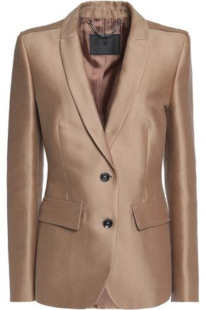BELSTAFF Ashden cotton and silk-blend twill blazer