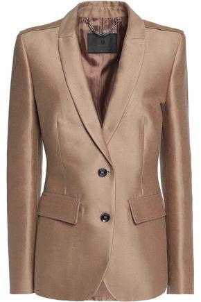 BELSTAFF Ashden cotton and silk-blend twill blazer