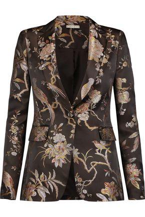 ALICE + OLIVIA Macey jacquard blazer