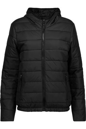 PURITY ACTIVE Quilted shell hooded jacket