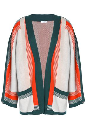 EQUIPMENT Striped knitted cardigan