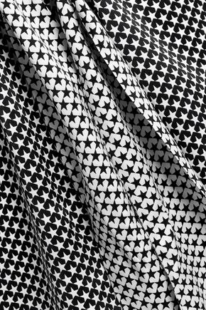 EQUIPMENT Printed silk mini dress