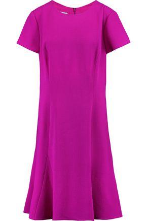 OSCAR DE LA RENTA Wool-blend twill dress