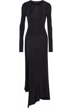ALEXANDER WANG Satin-jersey maxi dress