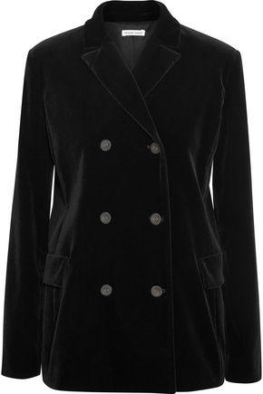 TOMAS MAIER Double-breasted velvet blazer