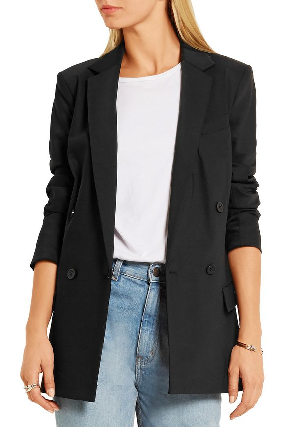 Double-breasted stretch-wool blazer | MICHAEL MICHAEL KORS | Sale up to 70%  off | THE OUTNET
