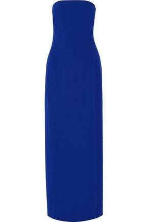 ADAM LIPPES Strapless crepe gown