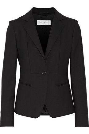 MAX MARA Stretch-wool crepe blazer