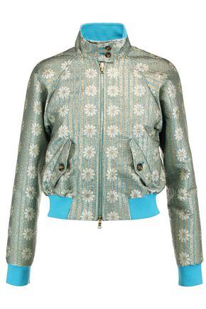 REDValentino Metallic jacquard jacket