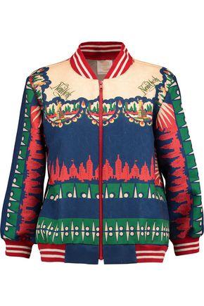 ANNA SUI Jacquard bomber jacket
