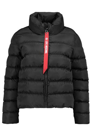 LOVE MOSCHINO Quilted shell down jacket