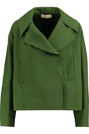 EMILIO PUCCI Oversized frayed wool jacket