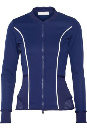 ADIDAS by STELLA McCARTNEY Run scuba-jersey jacket