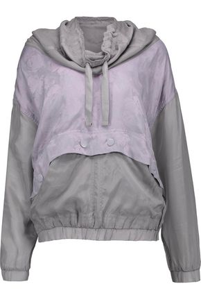 ADIDAS by STELLA McCARTNEY Jacquard and shell jacket