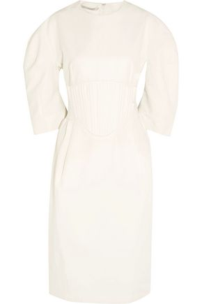 STELLA McCARTNEY Paneled poplin dress
