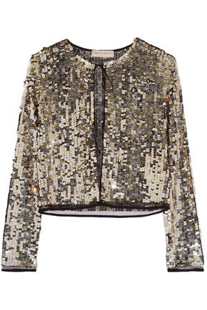 EMILIO PUCCI Sequined tulle jacket