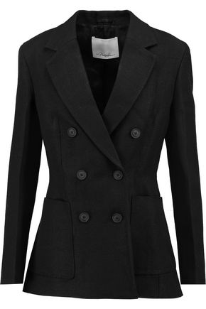 3.1 PHILLIP LIM Crepe double-breasted blazer