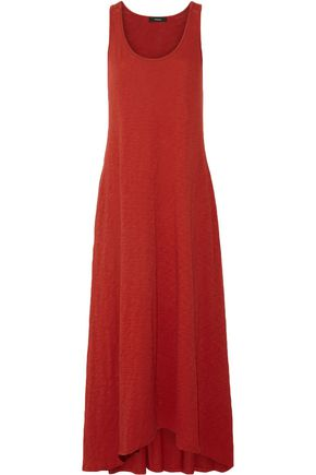 THEORY Slub cotton-jersey maxi dress
