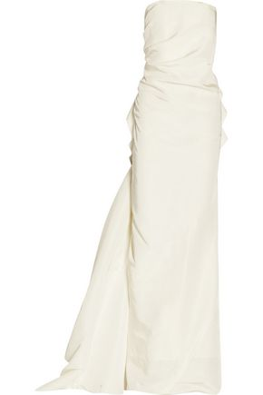 LANVIN Silk-faille gown