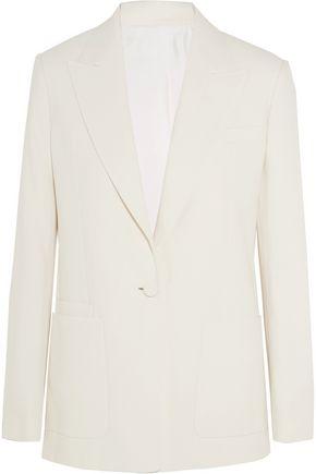 HELMUT LANG Cotton-crepe blazer