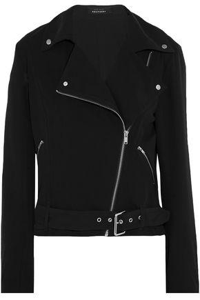 KATE MOSS EQUIPMENT Silk biker jacket
