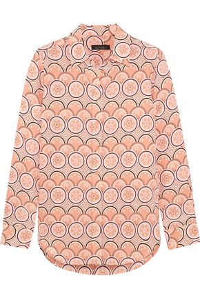 KATE MOSS EQUIPMENT Printed silk top