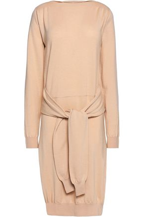 MM6 MAISON MARGIELA Tie-front wool dress