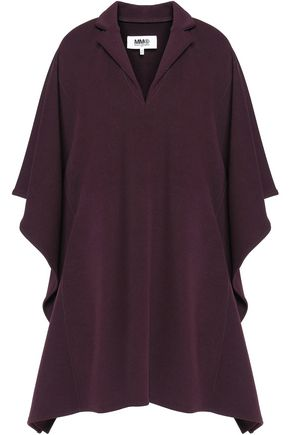 MM6 MAISON MARGIELA Draped twill mini dress