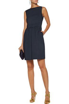 RAOUL Cara cutout cotton-blend mini dress