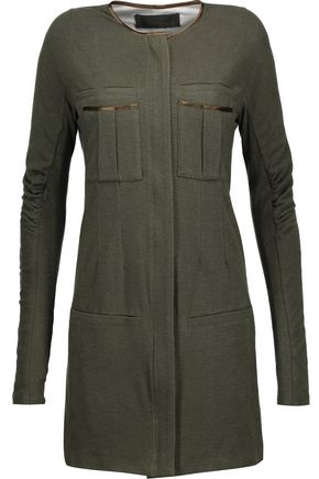 HAIDER ACKERMANN Cotton-blend jersey dress