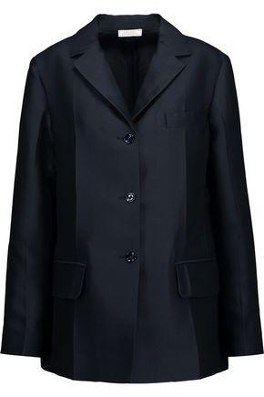 NINA RICCI Silk and wool-blend blazer