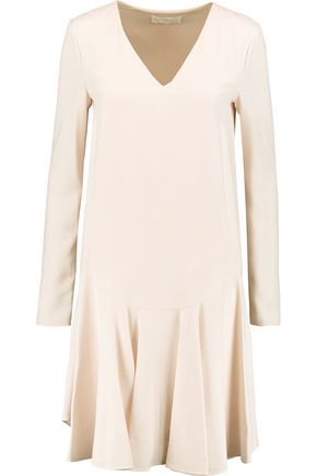 CHLOÉ Pleated crepe dress