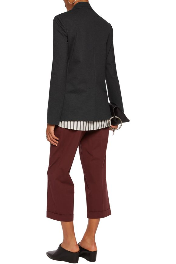 Cotton-blend jersey blazer | BRUNELLO CUCINELLI | Sale up to 70% off | THE  OUTNET