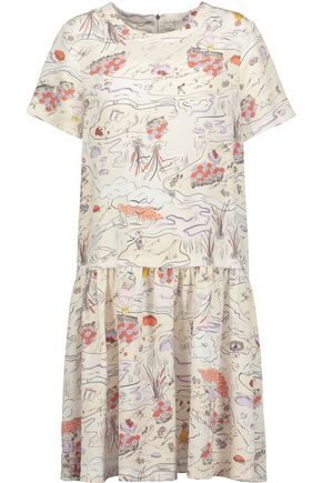 OPENING CEREMONY Story Toile Mazie printed twill dress