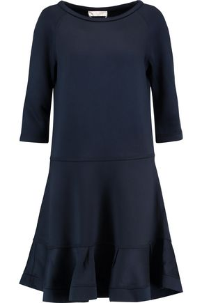 CHLOÉ Silk-paneled jersey dress