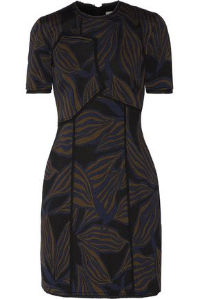 JASON WU Jacquard-knit mini dress