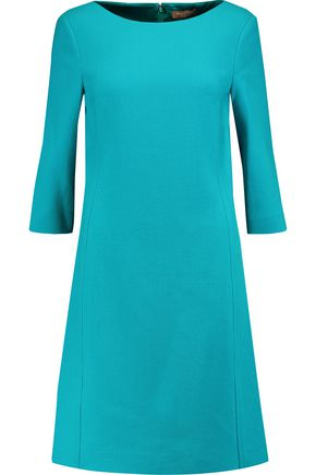 MICHAEL KORS COLLECTION Wool-crepe mini dress