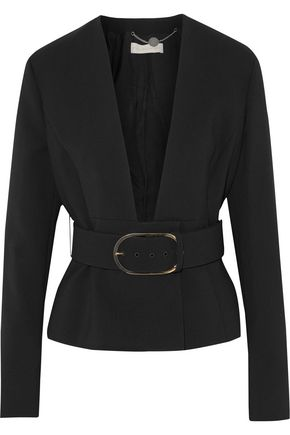 STELLA McCARTNEY Emma belted wool-blend blazer